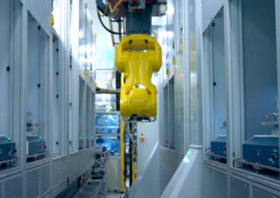 Robotizované pracoviště automatického pájení