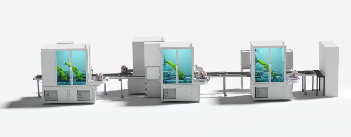 Robotizované pracoviště výroby HUD